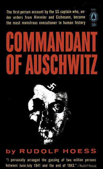 Скачать аудиокнигу Комендант Освенцима. Автобиографические записки Рудольфа Гесса
