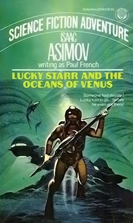 Скачать аудиокнигу Лаки Старр и океаны Венеры